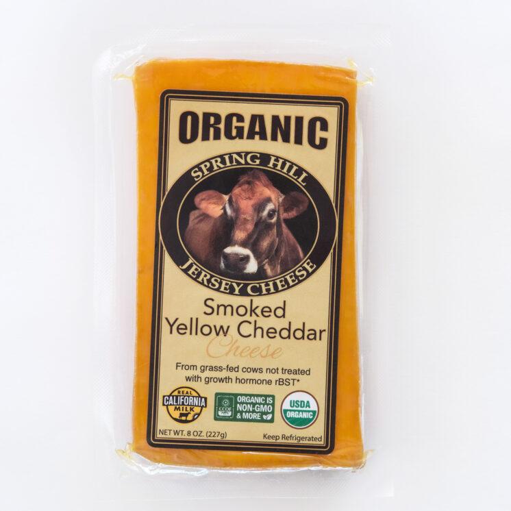 Smoked Yellow Cheddar