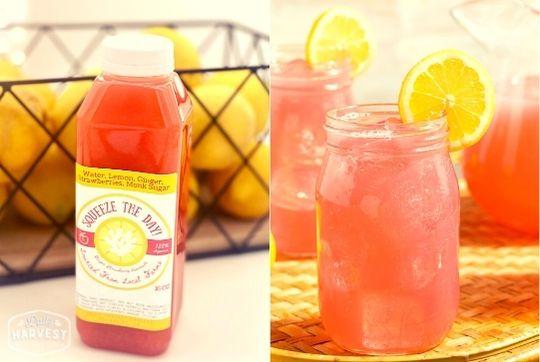 Ginger Strawberry Lemonade